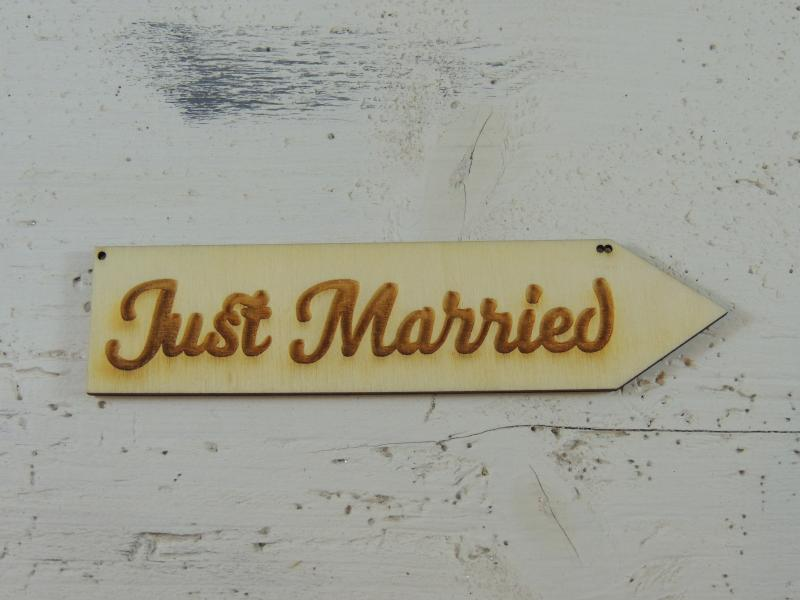 Just Married - 50 cm